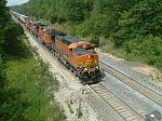 BNSF 4920 leads this EB intermodal