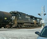 NS 8736 heads East