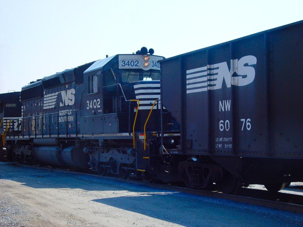 NS 3402 in second position