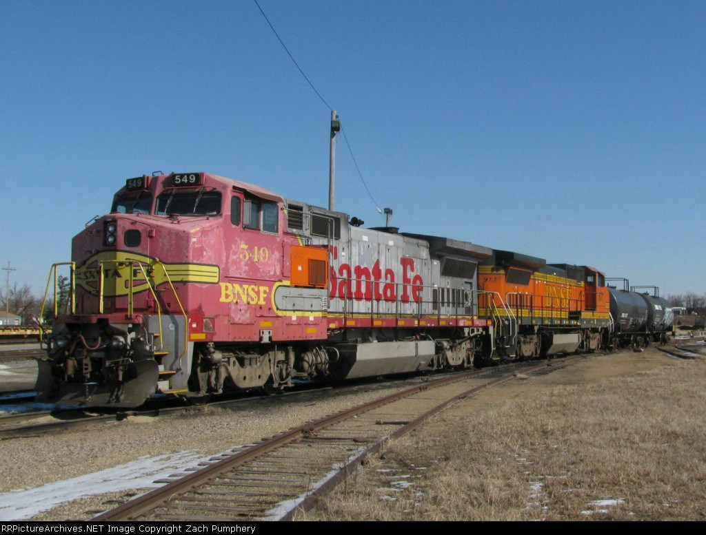 BNSF Local Assigned Locomotives