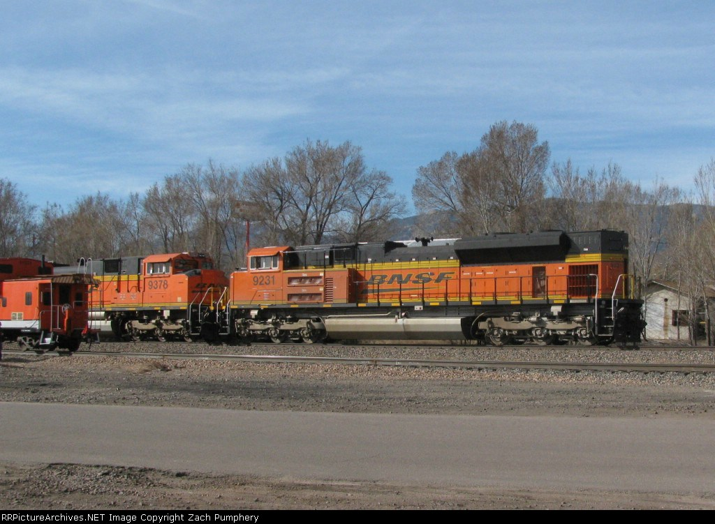 Southbound BNSF Loaded Coal Train DPU's Meeting a Northbound UP Yard Job