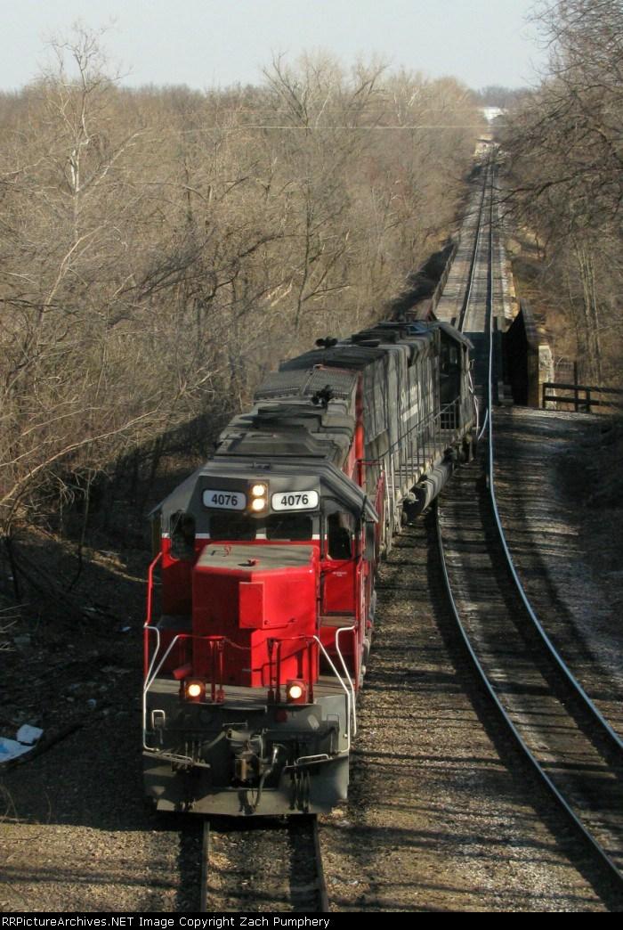 Southbound MNA Manifest Locomotives