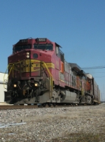 Westbound BNSF Vehicle Train