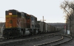 Northbound BNSF Empty Coal Train DPU's