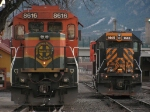 BNSF and UP Local Assigned Locomotives