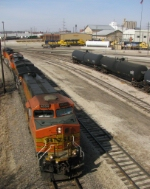 Eastbound BNSF High Priority Manifest
