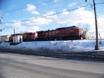 Canadian Pacific 9627 and 8579