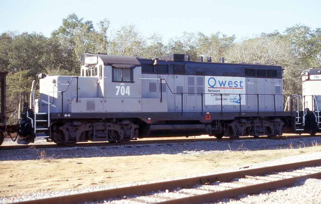 SPCX 704 for the fiber optics train