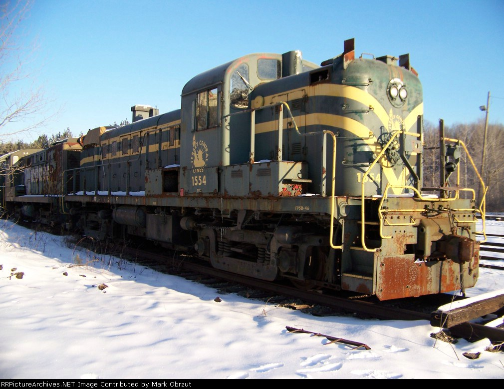 Central Railroad of New Jersey 1554