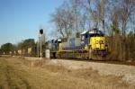 SB CSX unit train