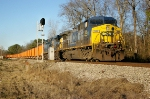 SB CSX unit train with MW hoppers