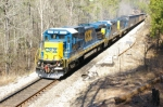 CSX 5967 with new paint