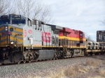 KCS 4579 and KCS 4688 Army Train