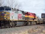 KCS 4579 and KCS 4688 Army Train