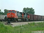 CN NB Freight on the IC