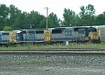CSX 8560 and 8049