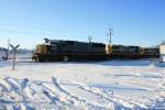 CSX 8511, 9007, and 7678 are the CGB grain train drop off.