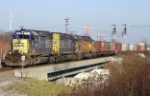 CSX Q231 rolls south