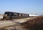NS 043, the southbound FEMA train,