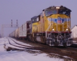 A frosted UP 4490 leads