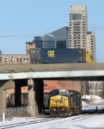 CSX over and under; G010 heads east