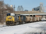 G010-03 starts east with an empty grain train for Grand Ledge