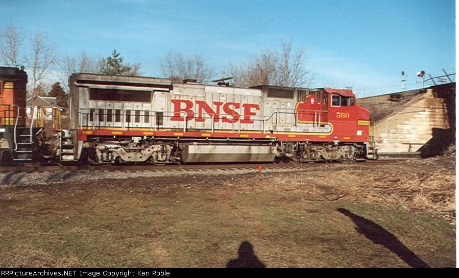 BNSF 560 (ex-ATSF)
