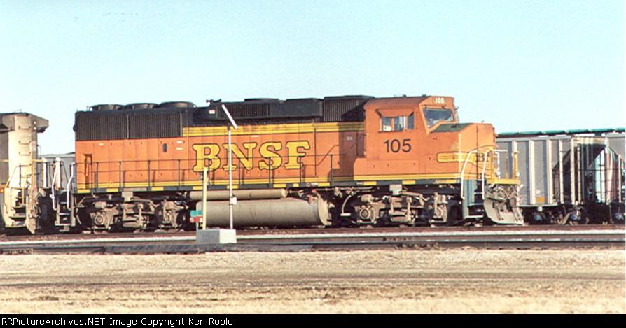 BNSF 105 (ex-ATSF) H2