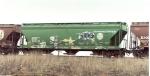 BNSF 3-bay ACF green