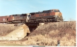 BNSF 1041 and 701