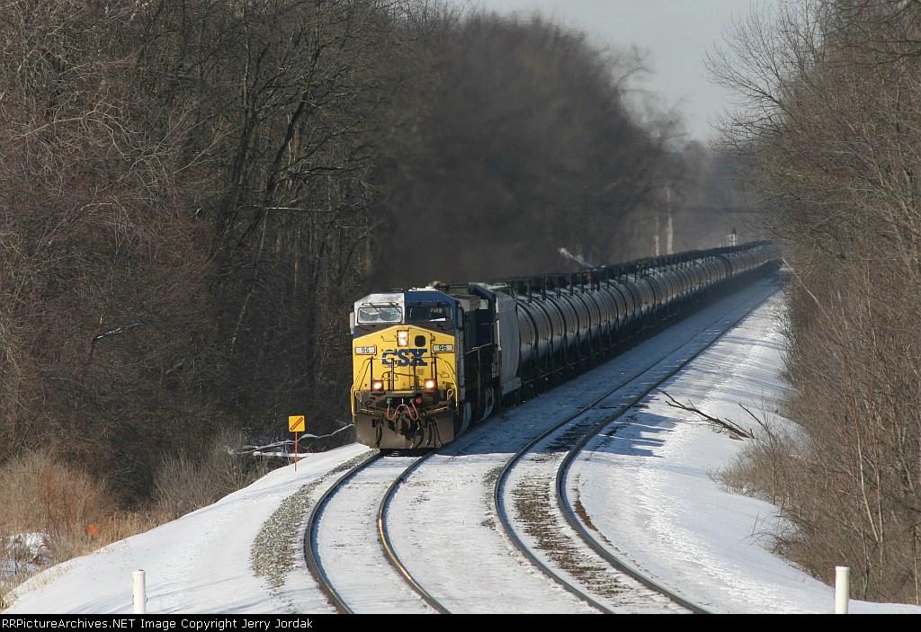 CSX ethanol train K426-05