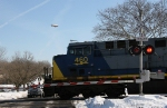CSXT 460 and the Goodyear Blimp