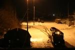 Chrysler Yard at night