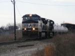 NS 156 departs Augusta Yard