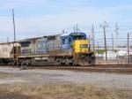 CSX 7577 enters CSX Augusta Yard