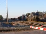 NS 155 departs Nixon Yard Southbound