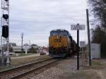 CSX 937 (DPU) on a loaded coal train