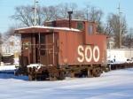 SOO caboose #114