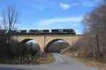 NS 212 on the Cherokee Creek bridge