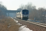 Amtrak's 353 Wolverine west out of Niles