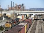 Stack Train Leaving Boyles Yard