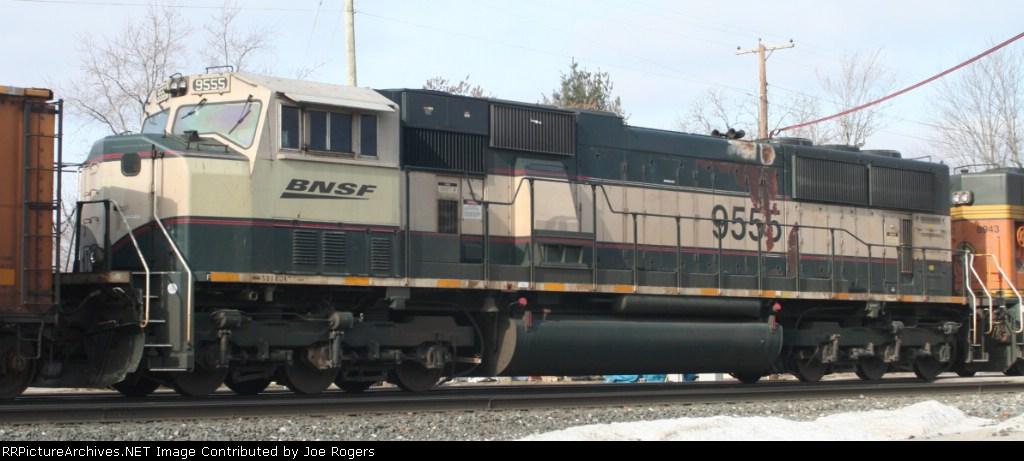 BNSF 9555
