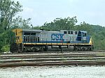 CSX 224 resting in the yard