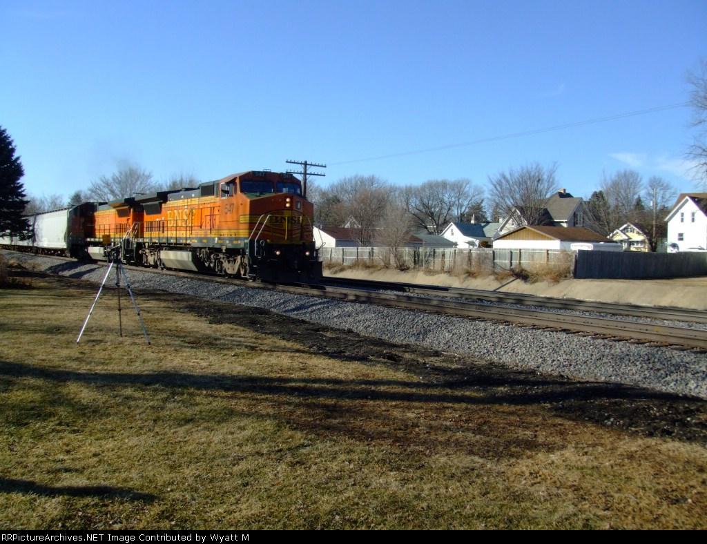 BNSF 547 Leads L-CHI101