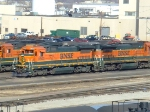 BNSF 8600 and 8637