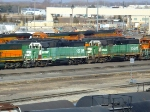 BNSF 1516 and 1500