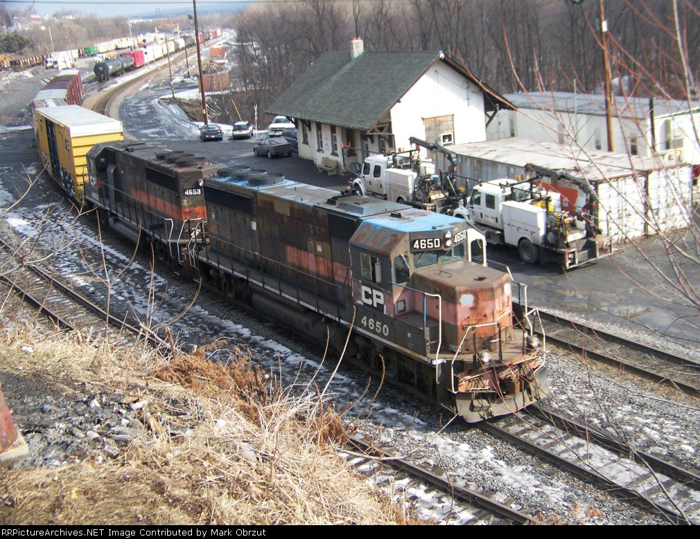 Canadian Pacific 4650 and 4653