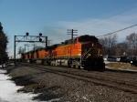 BNSF TOFC Train