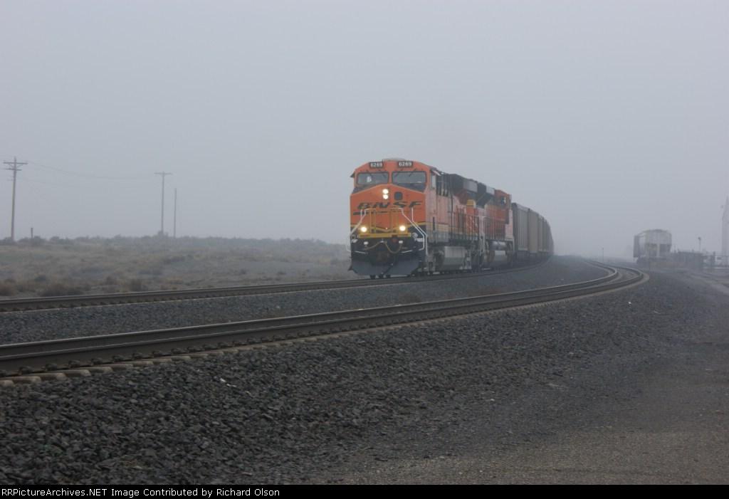 Empty coal haulin...