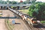 Eastbound diesel fuel train